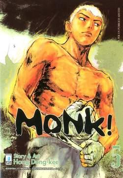 Copertina MONK! n.5 - MONK! (m6), STAR COMICS