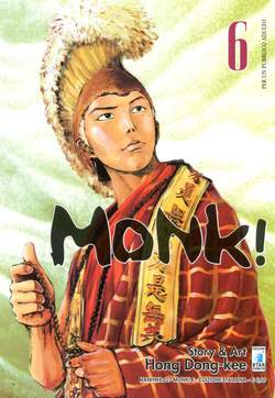 Copertina MONK! n.6 - MONK! (m6), STAR COMICS