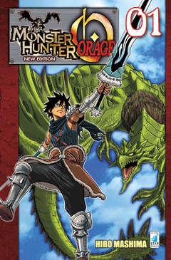 Copertina MONSTER HUNTER ORAGE N.E. (m2) n.1 - MONSTER HUNTER ORAGE New Edition, STAR COMICS