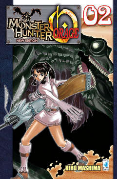 Copertina MONSTER HUNTER ORAGE New Edition n.2 - MONSTER HUNTER ORAGE New Edition, STAR COMICS