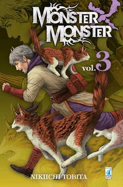 Copertina MONSTER X MONSTER n.3 - MONSTER X MONSTER 3 (m3), STAR COMICS