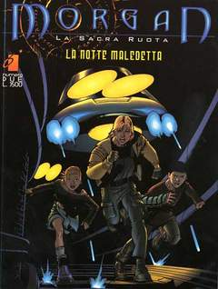 Copertina MORGAN SACRA RUOTA n.2 - LA NOTTE MALEDETTA, STAR COMICS