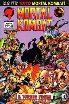 Copertina MORTAL KOMBAT n.7 - MORTAL KOMBAT                7, STAR COMICS