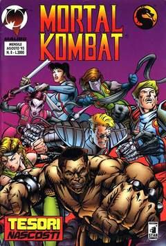 Copertina MORTAL KOMBAT n.8 - MORTAL KOMBAT                8, STAR COMICS