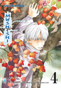 Copertina MUSHISHI (m10) n.4 - UP 73, STAR COMICS