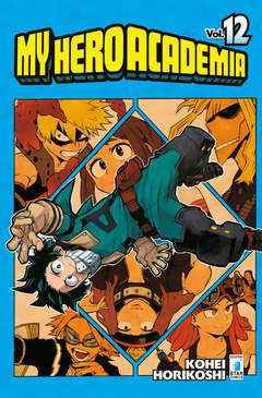 Copertina MY HERO ACADEMIA n.12 - MY HERO ACADEMIA, STAR COMICS