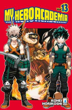 Copertina MY HERO ACADEMIA n.13 - MY HERO ACADEMIA, STAR COMICS