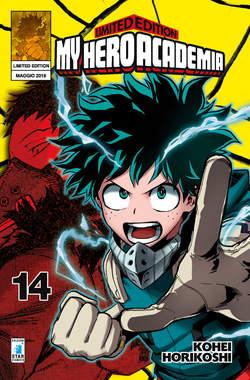 Copertina MY HERO ACADEMIA n.14 - MY HERO ACADEMIA LIMITED - CON MINI POSTER, STAR COMICS