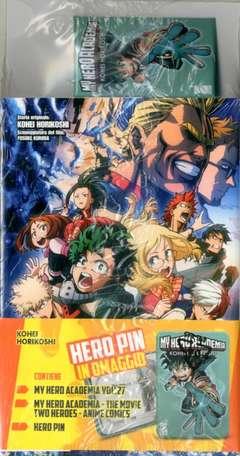 Copertina MY HERO ACADEMIA BUNDLE n. - MY HERO ACADEMIA #27 + MOVIE Anime Comics + SPILLA, STAR COMICS