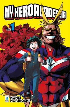 Copertina MY HERO ACADEMIA n.1 - MY HERO ACADEMIA 1, STAR COMICS