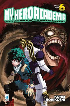 Copertina MY HERO ACADEMIA n.6 - MY HERO ACADEMIA 6, STAR COMICS