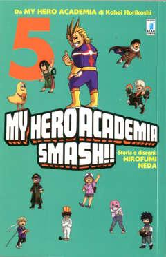 Copertina MY HERO ACADEMIA SMASH!! (m5) n.5 - MY HERO ACADEMIA SMASH!!, STAR COMICS