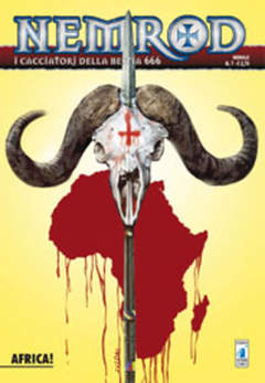 Copertina NEMROD n.7 - AFRICA!, STAR COMICS