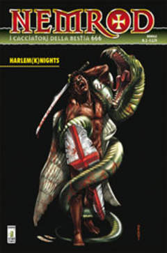 Copertina NEMROD n.2 - HARLEM (K)NIGHTS, STAR COMICS