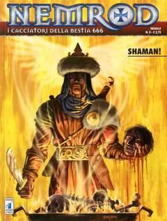 Copertina NEMROD n.8 - SHAMAN, STAR COMICS