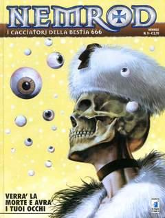 Copertina NEMROD n.9 - VERRA LA MORTE E AVRA I TUOI OCCHI, STAR COMICS