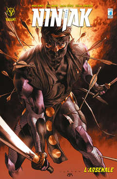 Copertina NINJAK n.1 - L'ARSENALE, STAR COMICS