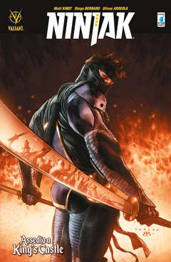 Copertina NINJAK n.4 - ASSEDIO A KING'S CASTLE, STAR COMICS