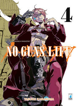 Copertina NO GUNS LIFE n.4 - POINT BREAK 211, STAR COMICS