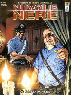 Copertina NUVOLE NERE (m6) n.6 - LA TENDA NERA, STAR COMICS