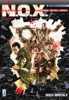 Copertina N.O.X. n.1 - GIOCO MORTALE, STAR COMICS