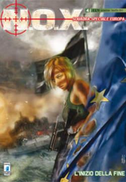 Copertina N.O.X. n.4 - L'INIZIO DELLA FINE, STAR COMICS