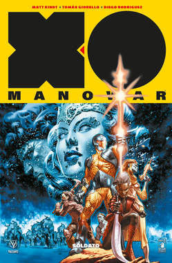Copertina X-O MANOWAR Nuova Serie n.1 - SOLDATO, STAR COMICS