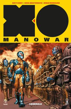 Copertina X-O MANOWAR Nuova Serie n.2 - GENERALE, STAR COMICS