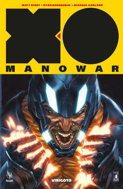 Copertina X-O MANOWAR Nuova Serie n.4 - VISIGOTO, STAR COMICS