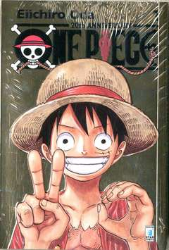 Copertina ONE PIECE 20TH ANNIVERSARY #1 n.2 - edizione GOLD, STAR COMICS