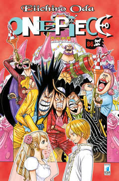 Copertina ONE PIECE n.86 - ONE PIECE, STAR COMICS