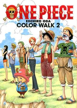 Copertina ONE PIECE COLOR WALK n.2 - COLOR WALK 2, STAR COMICS