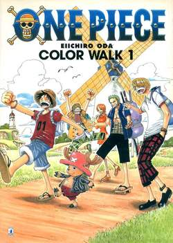 Copertina ONE PIECE COLOR WALK n.1 - COLOR WALK 1, STAR COMICS