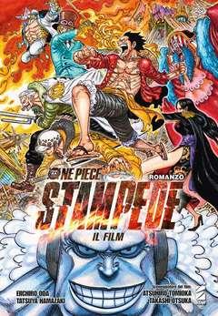 Copertina ONE PIECE FILM STAMPEDE ROMANZ n. - ONE PIECE IL FILM STAMPEDE ROMANZO, STAR COMICS