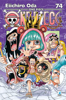 Copertina ONE PIECE NEW EDITION n.74 - ONE PIECE NEW EDITION 74, STAR COMICS