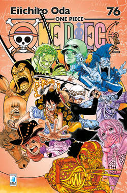 Copertina ONE PIECE NEW EDITION n.76 - ONE PIECE NEW EDITION, STAR COMICS