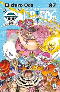 Copertina ONE PIECE NEW EDITION n.87 - ONE PIECE NEW EDITION 87, STAR COMICS