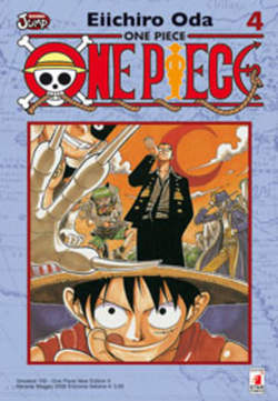 Copertina ONE PIECe new edition n.4 - ONE PIECE 4 NEW EDITION, STAR COMICS