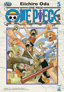 Copertina ONE PIECe new edition n.5 - ONE PIECE 5 NEW EDITION, STAR COMICS