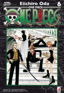 Copertina ONE PIECe new edition n.6 - ONE PIECE NEW EDITION 6, STAR COMICS