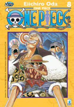 Copertina ONE PIECe new edition n.8 - ONE PIECE 8 NEW EDITION, STAR COMICS