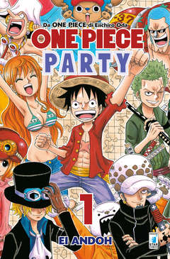 Copertina ONE PIECE PARTY n.1 - ONE PIECE PARTY, STAR COMICS