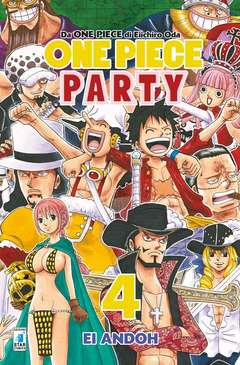 Copertina ONE PIECE PARTY n.4 - ONE PIECE PARTY, STAR COMICS
