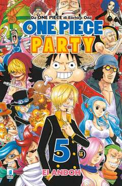Copertina ONE PIECE PARTY n.5 - ONE PIECE PARTY, STAR COMICS