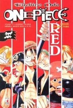 Copertina ONE PIECE SPECIALI n.1 - ONE PIECE RED, STAR COMICS