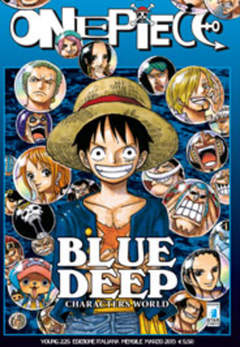 Copertina ONE PIECE SPECIALI n.6 - BLUE DEEP, STAR COMICS