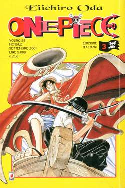 Copertina ONE PIECE n.3 - ONE PIECE, STAR COMICS