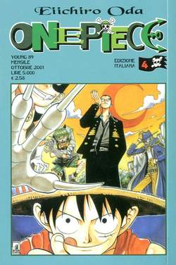 Copertina ONE PIECE n.4 - ONE PIECE, STAR COMICS