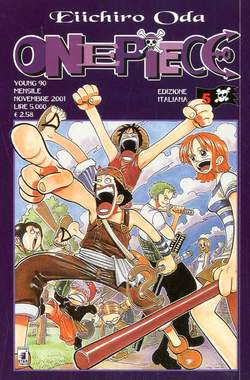 Copertina ONE PIECE n.5 - ONE PIECE, STAR COMICS