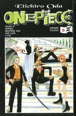 Copertina ONE PIECE n.6 - ONE PIECE, STAR COMICS